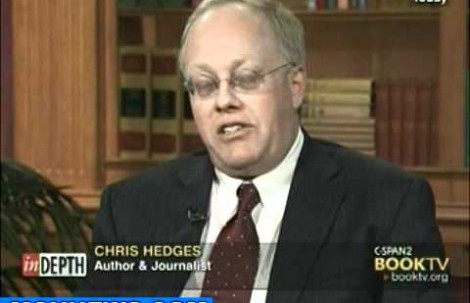 "Chris Hedges ""Brace Yourself! The American Empire Is Over & The Descent Is Going To Be Horrifying!"""